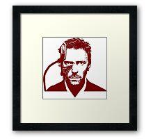 House Borg Red Framed Print