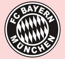FC Bayern Munich Black One Piece - Long Sleeve
