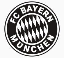FC Bayern Munich Black One Piece - Short Sleeve