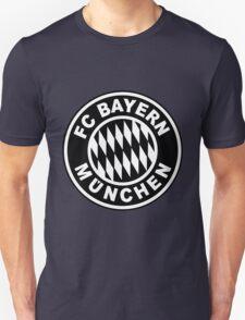 FC Bayern Munich Black Unisex T-Shirt