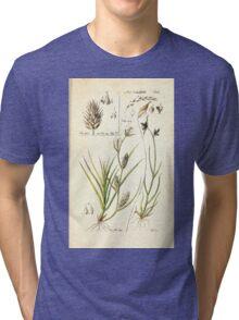 Beschreibung und Abbildung der theils bekannten theils noch nicht beschriebenen Arten von Riedgräsern nach eigenen Beobachtungen Theile Christian Schuker 1806 054 Tri-blend T-Shirt