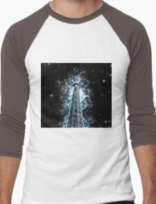 Digitally manipulated image of a spire of church with a crucifix  T-Shirt