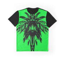 Palm Tree - Green Sky Graphic T-Shirt