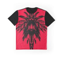 Palm Tree - Red Sky Graphic T-Shirt