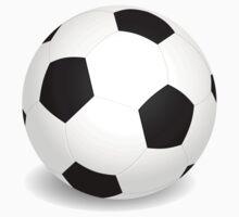 Large soccer ball Kids Tee