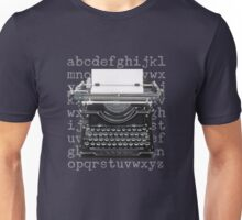 Vintage Underwood Typewriter Unisex T-Shirt