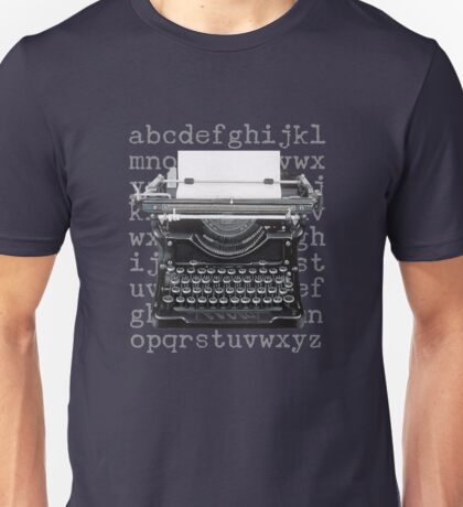 Vintage Underwood Typewriter Unisex T-Shirt
