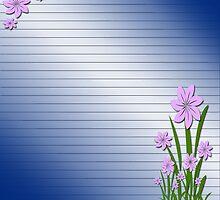 Purple flowers by ikshvaku
