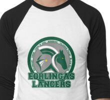 Eorlingas Lancers - Edoras' Finest Men's Baseball ¾ T-Shirt