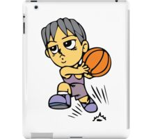 Basketball cartoon art iPad Case/Skin