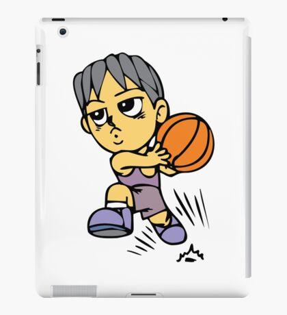 Basketball cartoon art iPad Case/Skin