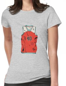 Basketball player jersey Womens Fitted T-Shirt
