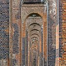 Supporting Brick Piers of Railway Viaduct by Stephen Frost