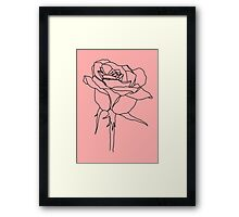 Rose Series Framed Print