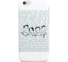 Arctic Monkeys, phone case, song lyrics iPhone Case/Skin