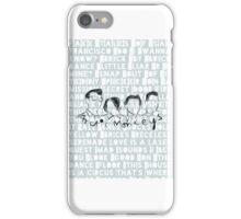 Arctic Monkeys, phone case, song lyrics iPhone Case/Skin