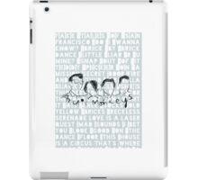Arctic Monkeys, phone case, song lyrics iPad Case/Skin