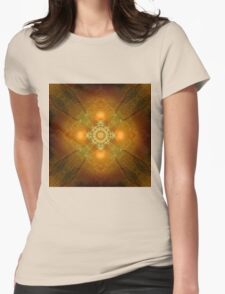 Vajra Heart Womens Fitted T-Shirt