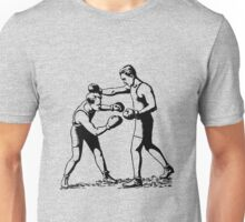 Olde time boxers classic boxing stances punching Unisex T-Shirt