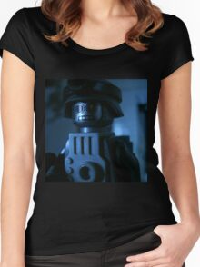 Lego Robot Soldier Women's Fitted Scoop T-Shirt