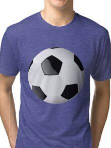 Football players kicking Tri-blend T-Shirt