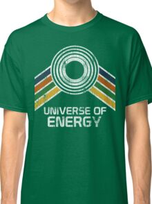 Universe of Energy Logo in Vintage Distressed Style Classic T-Shirt