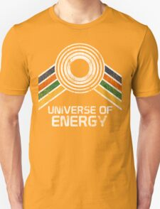 Vintage Distressed Universe of Energy Logo from EPCOT Center T-Shirt
