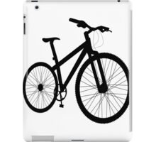Bicycle silhouette iPad Case/Skin