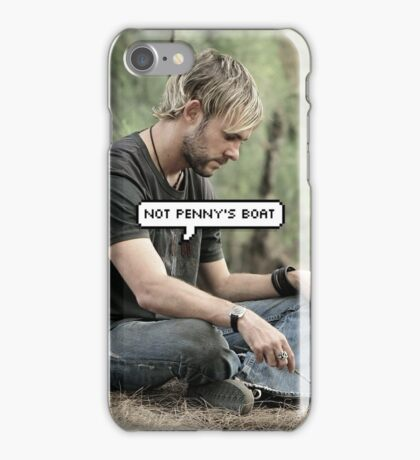 Not Penny's Boat iPhone Case/Skin