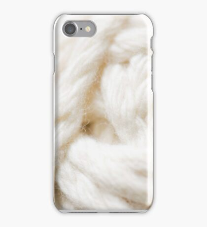 A Ball of Chunky Yarn iPhone Case/Skin