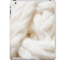 A Ball of Chunky Yarn iPad Case/Skin