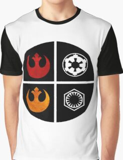 star wars symbols  Graphic T-Shirt