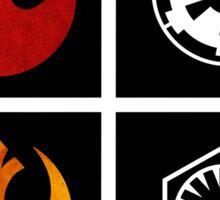 star wars symbols  Sticker