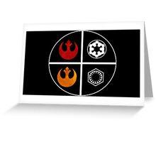 star wars symbols  Greeting Card