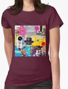 Breathe Easy live Womens Fitted T-Shirt