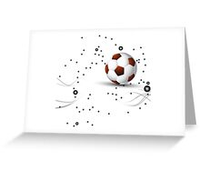 Football design Greeting Card