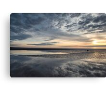 Solway Seascape Reflections Canvas Print