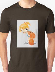 Basketball cartoon girl character T-Shirt