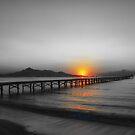 Sunrise Alcudia Majorca by Jim Wilson