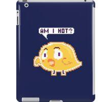 Chick: Am I Hot? Pixel iPad Case/Skin