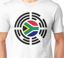 Korean South African Multinational Patriot Flag Series Unisex T-Shirt