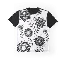 Geometric Flowers number 2 Graphic T-Shirt