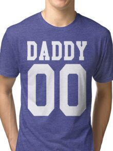 DADDY 00 Jersey Tri-blend T-Shirt