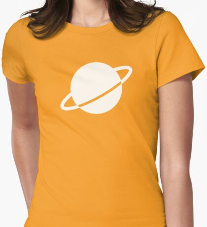 Legion of Super-Heroes; Saturn Girl Womens Fitted T-Shirt