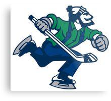 Ice hockey go canucks Metal Print