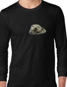 Sea Otter Who Me Surely not! Long Sleeve T-Shirt