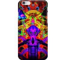 Cosmic Tentacle Screamer iPhone Case/Skin