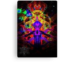 Cosmic Tentacle Screamer Canvas Print