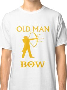AN OLD MAN WITH BOW Classic T-Shirt