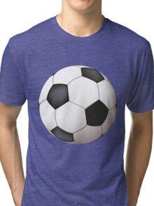 Soccer ball art Tri-blend T-Shirt